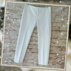 NWD Cynthia Rowley White Cropped Ankle Pants